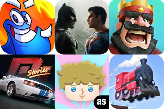 Melhores Jogos para iPhone e iPad da Semana #9 2016