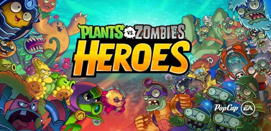 plants-vs-zombies-heroes Plants vs. Zombies Heroes é a aposta da EA para rivalizar com Clash Royale e HS