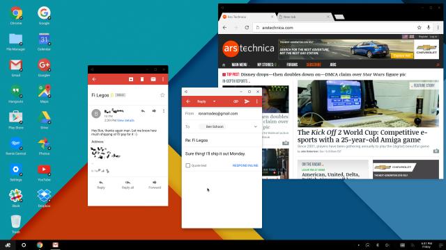 remixos-Android Android N: Novos recursos de multijanelas indicam possível versão Desktop do sistema