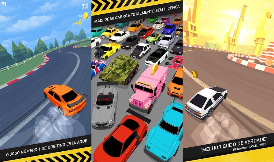 thumb-drift 10 Melhores Jogos para Android Grátis de Março de 2016