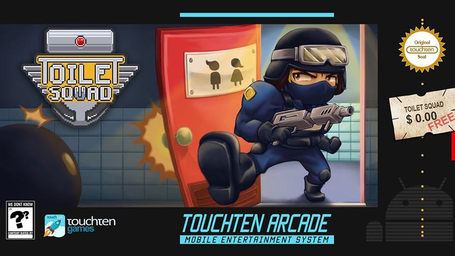 toilet-squad-android-ios Resgate reféns em um jogo que se chama Esquadrão do Banheiro (Android e iOS)