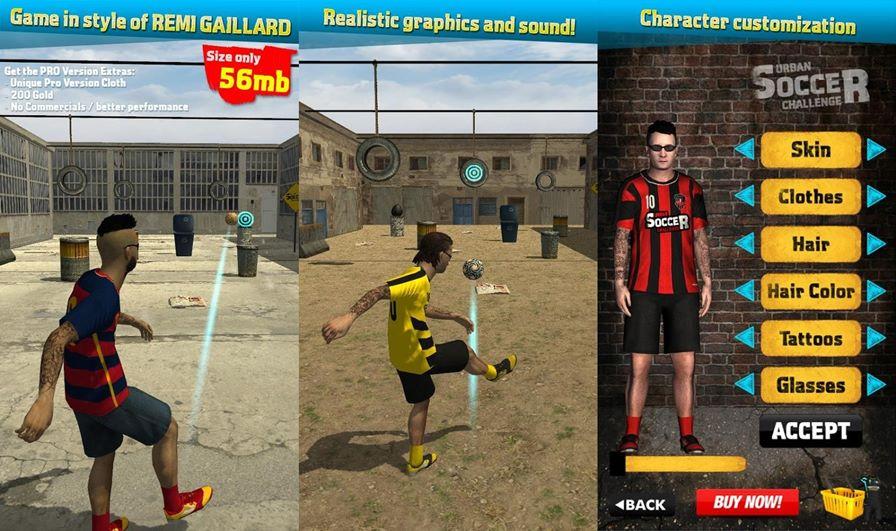 urban-soccer-challenge-android Treine o seu Futebol de Rua em Urban Soccer Challenge (Android)
