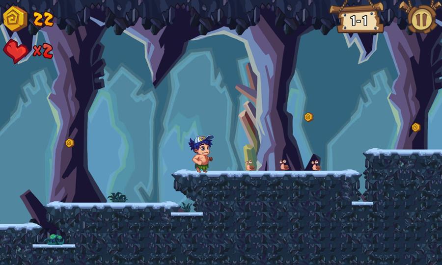 Adventure-Island-reborn-2 Adventure Island Reborn é um remake não autorizado do clássico do NES no Android