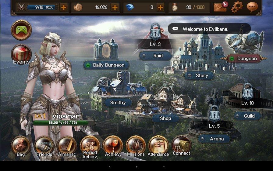 evilbane-android Top 10 Melhores Jogos de RPG Online de 2016 (Android e iOS)