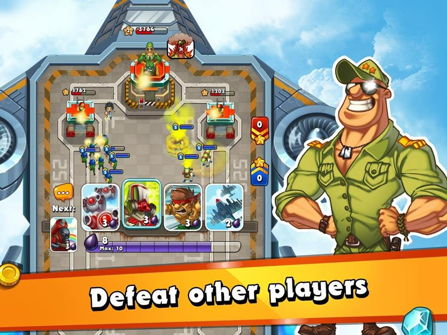 jungle-clash-Android-ios Jungle Clash: Surge o primeiro clone de Clash Royale na Google Play