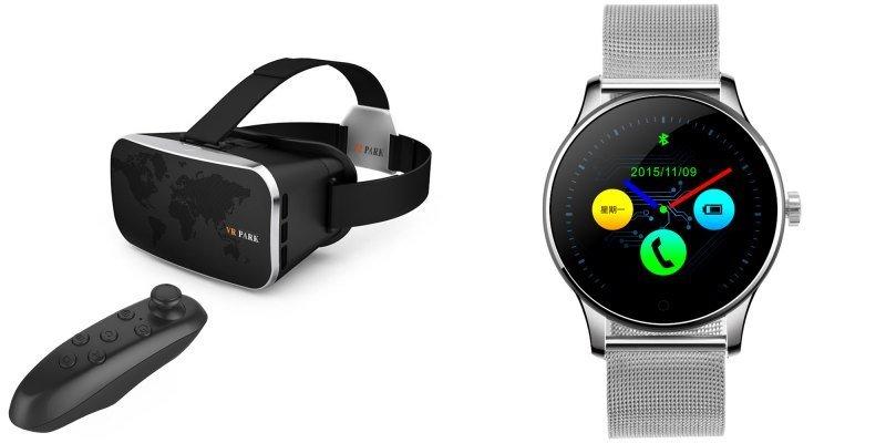 oculus-realidade-virtual-relogio-inteligente Smartwatchs e óculos de realidade virtual são destaque em Abril na GearBest