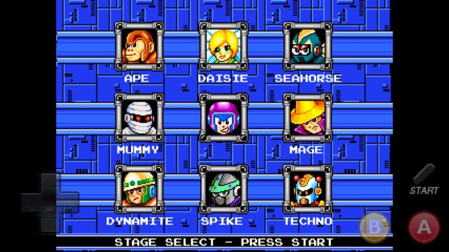 rockbot-android-megaman-1 Rockbot é um jogo para Android inspirado no primeiro Mega Man