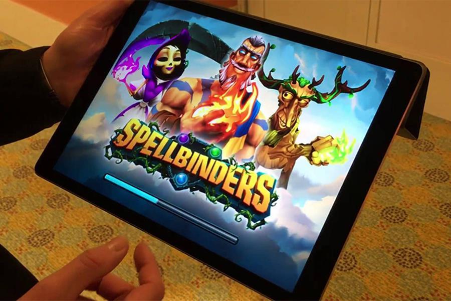 spellbinders-android-ios Spellblinders é uma mistura de card game e MOBA criado pela produtora de Subway Surfers