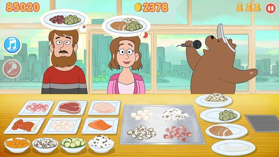 stirfry-stunts-ursos-sem-curso Novo Jogo do desenho animado Ursos Sem Curso da Cartoon Network