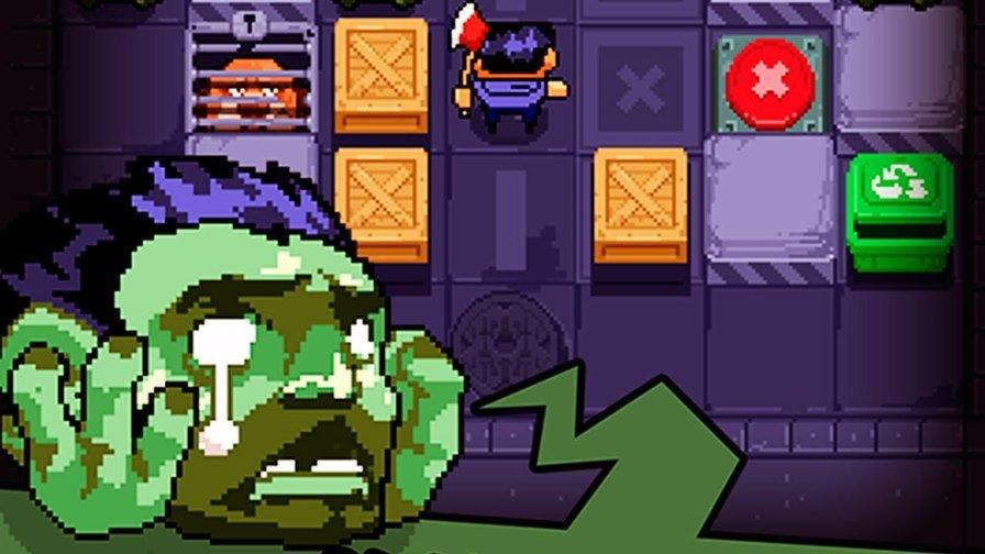zombie-maze-android-ios Zombie Maze é um jogo divertido e OFFLINE onde a missão é resgatar um cachorro