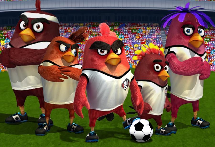 angrybirdsgoal Angry Birds Goal!, novo jogo da Rovio, chega em soft launch no Android e iOS
