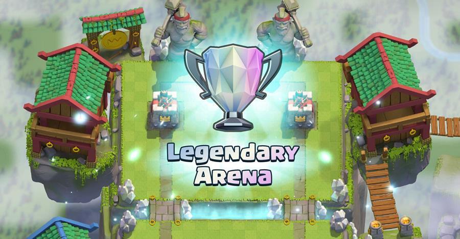 clash-royale-arena-lendaria Clash Royale: Youtuber gasta quase R$ 3 mil reais para chegar na arena lendária