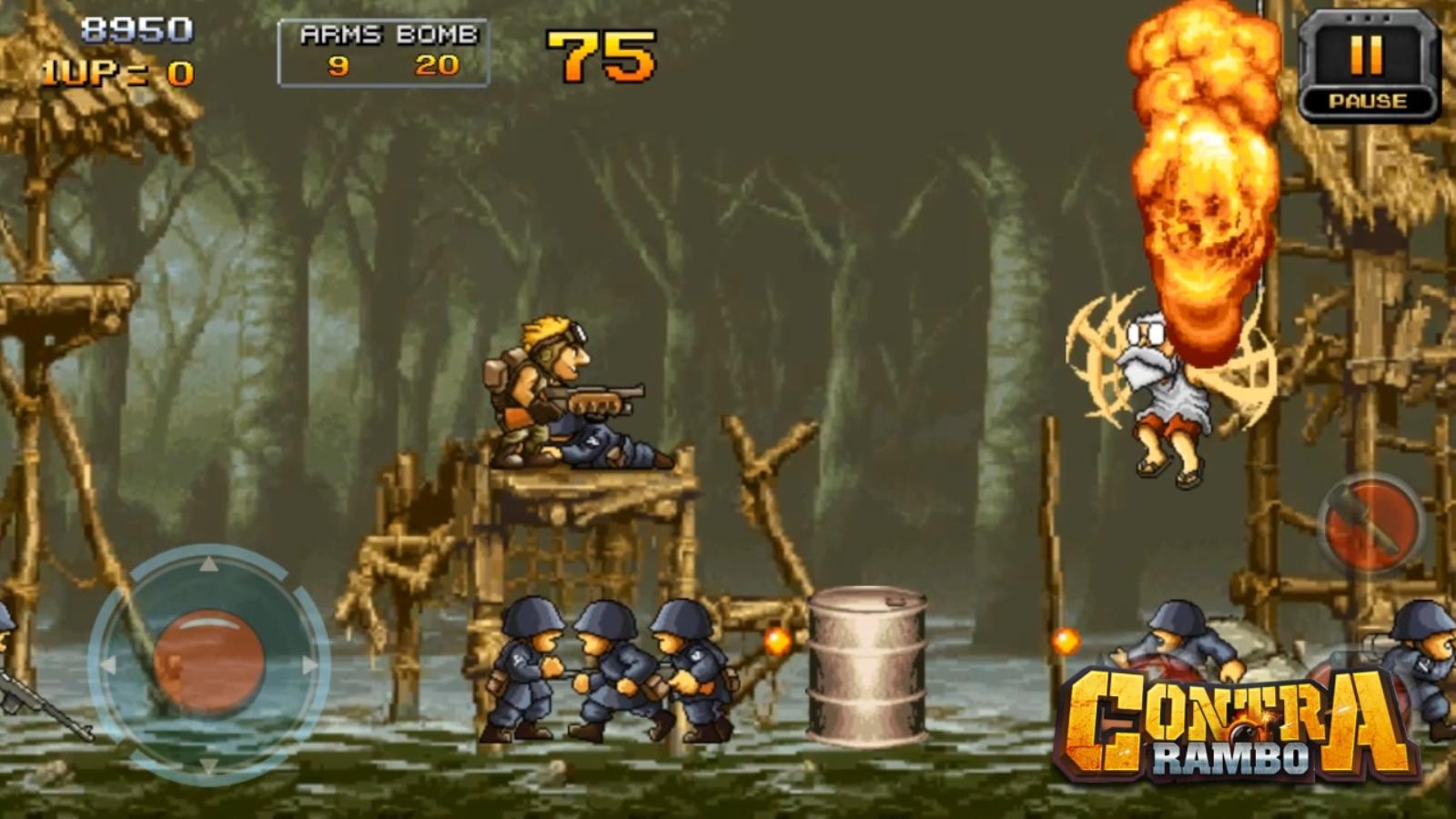 contra-rambo-2 Contra Rambo: uma cópia de Metal Slug que vale a pena jogar