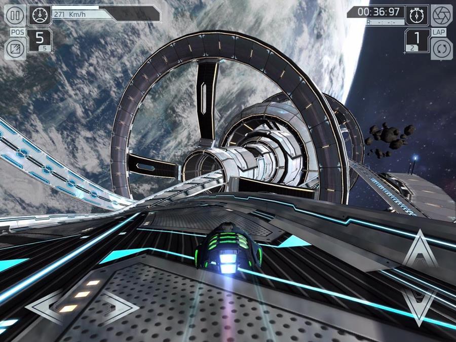 cosmic-challenge-2 Os 25 Melhores Jogos OFFLINE de Corrida para Android e iOS