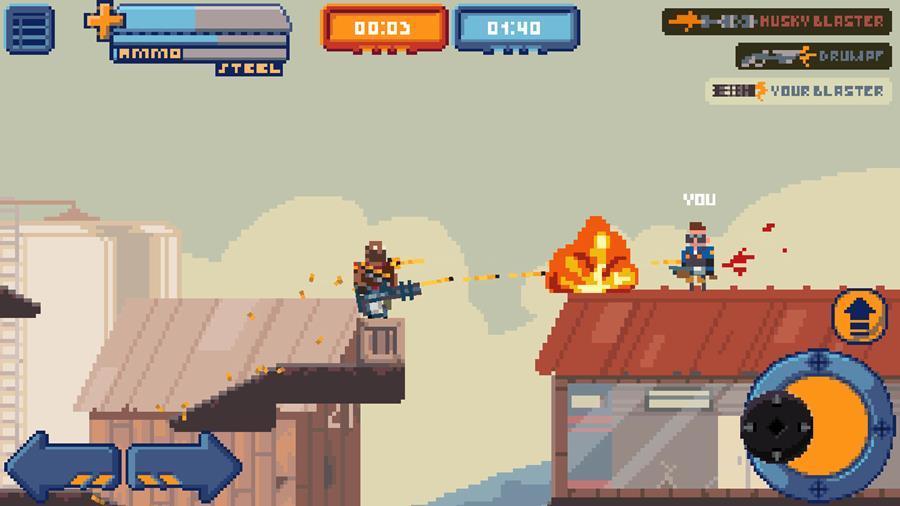 gangfort-android Gangfort: um Team Fortress 2 em 2D para Android e iOS