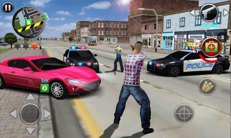 grand-gangsters-3d-android 25 Melhores Jogos de Mundo Aberto OFFLINE do Android e iOS