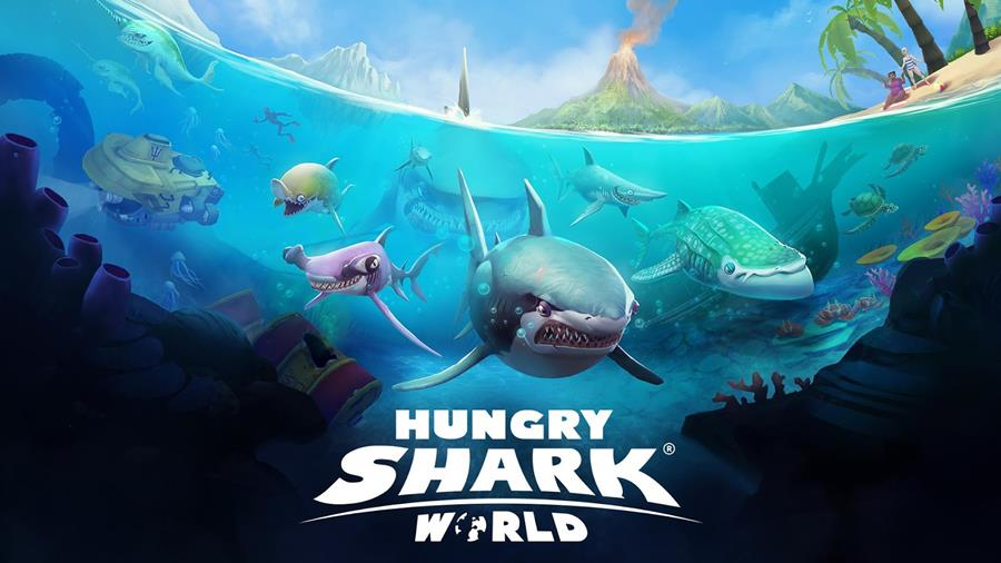 hungry-shark-world-android-ios Hungry Shark World finalmente é lançado no Android e iOS