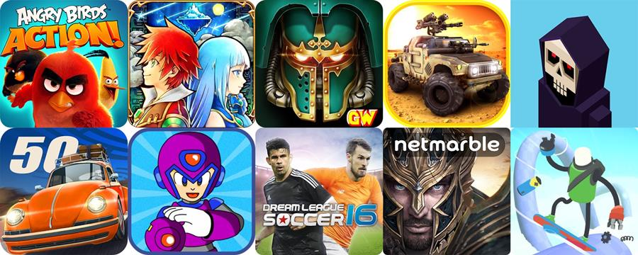 Melhores Jogos Grátis para Android de Abril de 2016