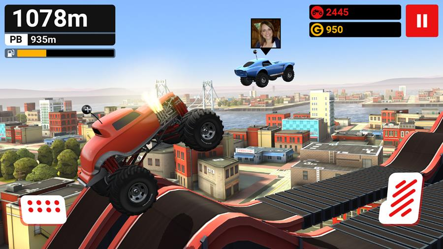 mmx-hill-climb-android-ios MMX Hill Climb é uma versão com gráficos HD de Hill Climb Racing