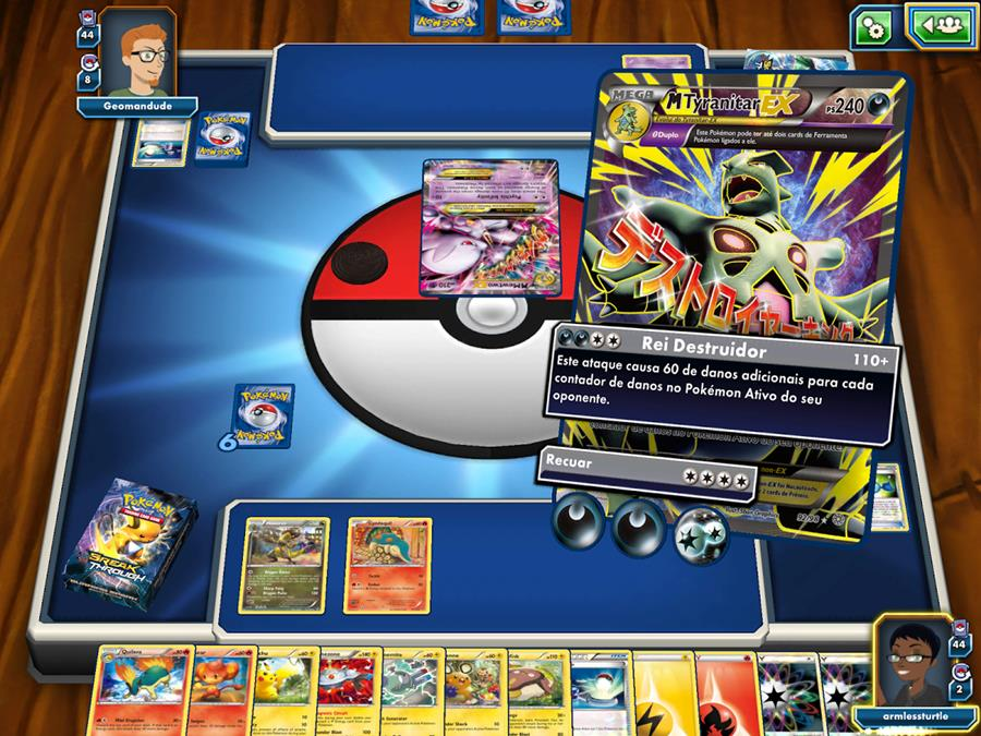 pokemon-tgc-online Pokémon TGC Online chega aos tablets com Android