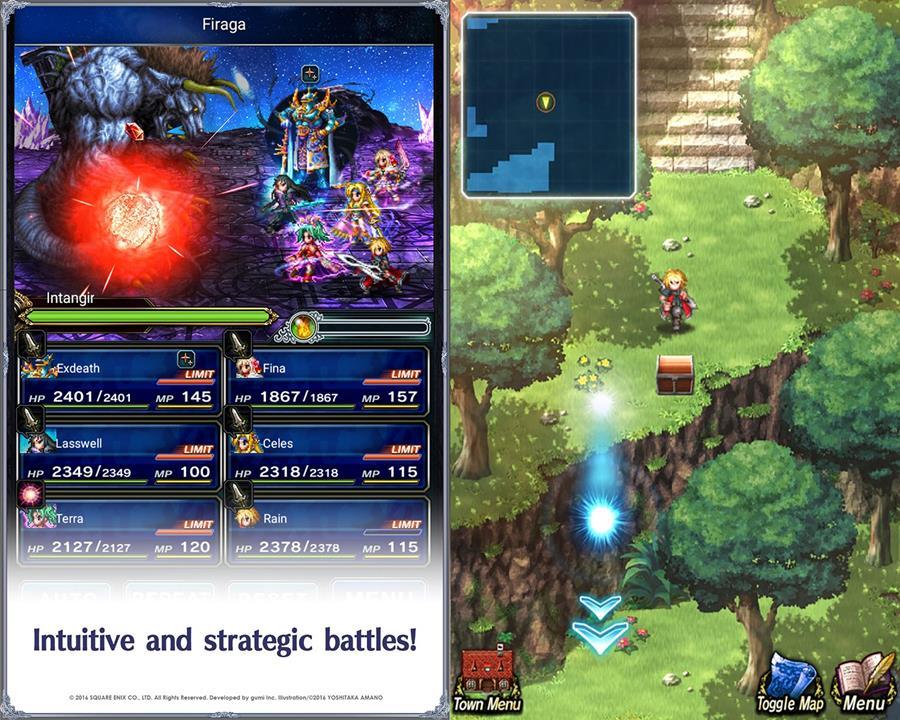Final-Fantasy-Brave-Evxius-Global-Android-1-horz Top 10 Melhores Jogos de RPG Online de 2016 (Android e iOS)