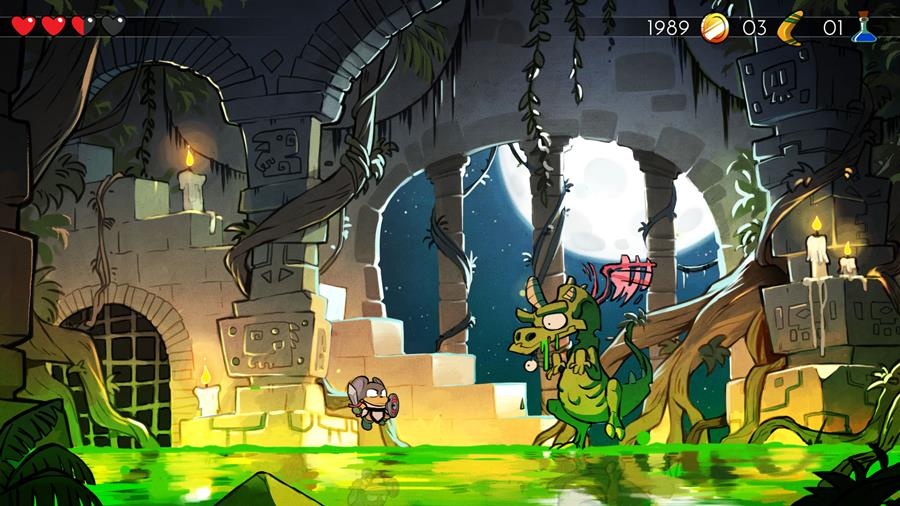 WonderBoyTheDragonsTrap-06 Wonder Boy The Dragon's Trap: clássico do Master System vai ganhar remake