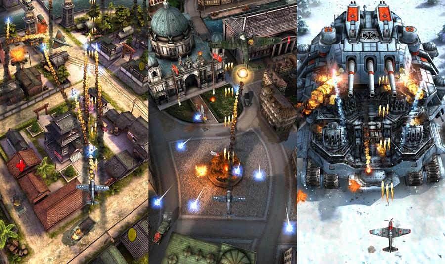 airattack2-android-ios AirAttack 2 é um jogo de tiro com aviões da 2ª Guerra Mundial (Android e iOS)