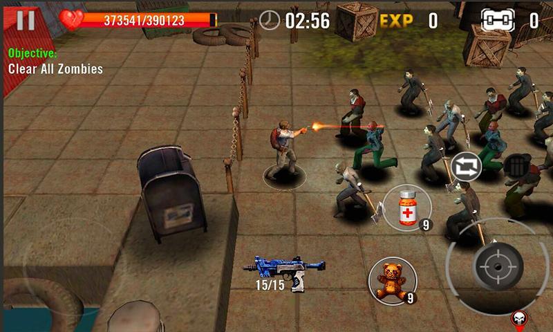 """assassino-zumbi-3d-2 Assassino de Zumbi 3D é um jogo de zumbi para quem tem celular """"fraco"""""""
