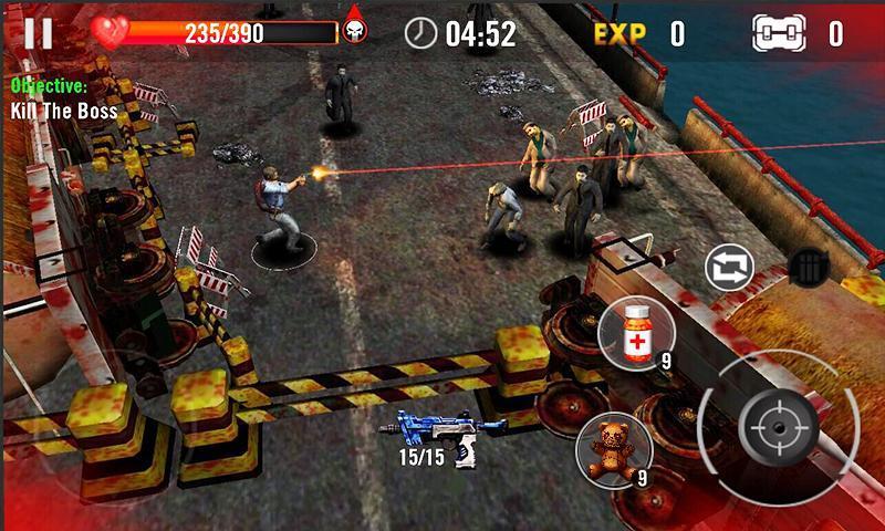 """assassino-zumbi-3d Assassino de Zumbi 3D é um jogo de zumbi para quem tem celular """"fraco"""""""