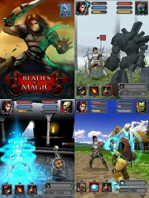 blade-magic-3d-fishlabs-2007 TOP 10 Melhores Jogos Para Celular Java de Todos os Tempos
