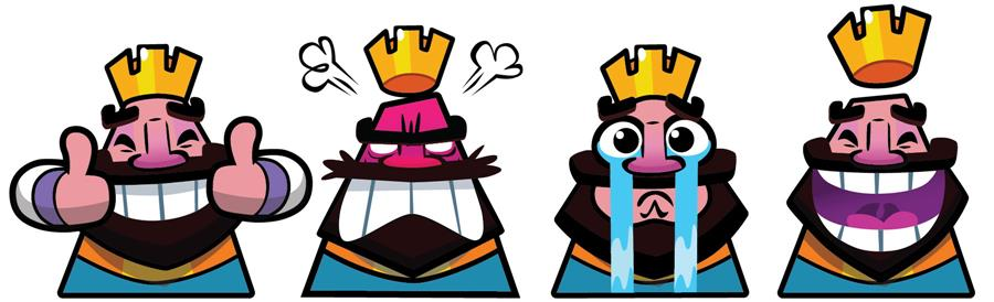 clash-royale-emotes 7 Dicas para Não Passar Raiva em Clash Royale