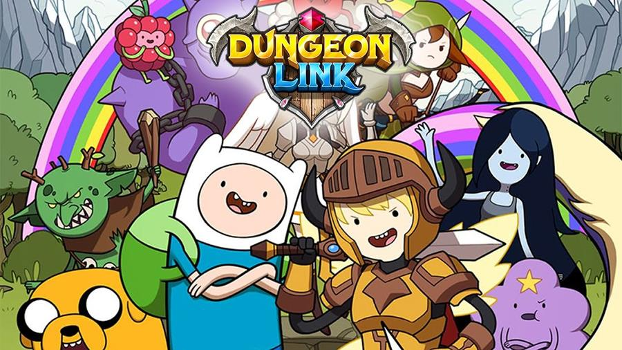 """dungeon-link-adventure-time-android-ios Dungeon Link recebe atualização com """"Hora de Aventura"""""""