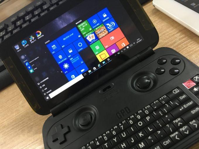 gpd-win-pocket-pc Pocket PC GPD Win: um bizarro computador de bolso com Windows 10