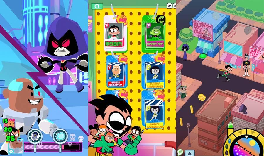 mini-titas-android Jovens Titãs, jogos grátis e mais: veja games em promoção no Android