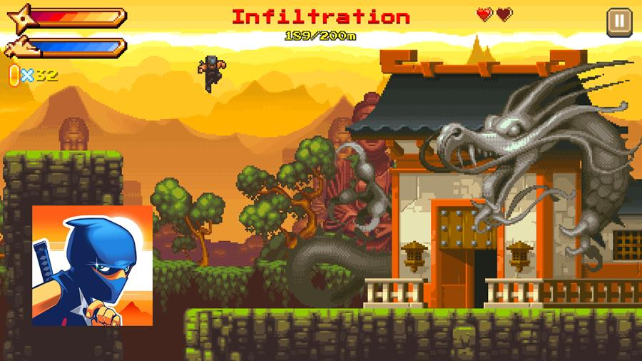 ninjAwesome-android-ios Mostre suas habilidades em NinjAwesome, game offline para Android e iOS