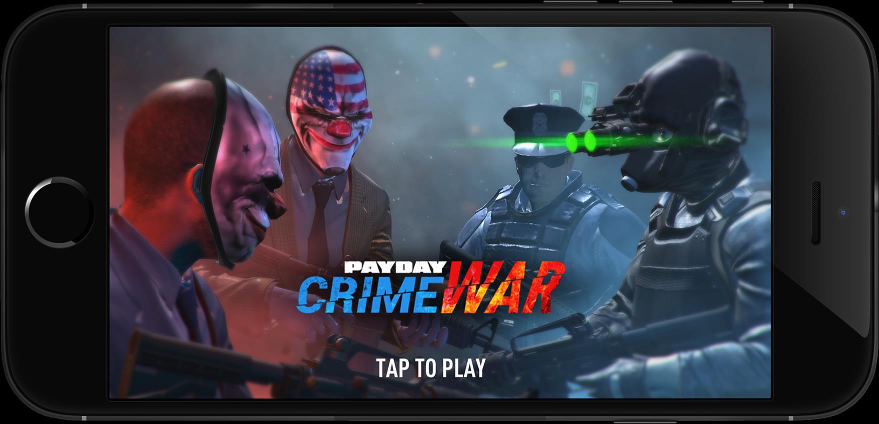 payday-crime-war-android-ios-1 PAYDAY Crime War: estúdio de Dead Effect 2 vai trabalhar no game