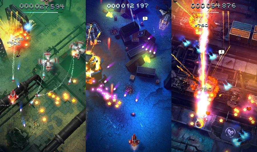 sky-force-reloaded-android-ios Sky Force Reloaded repete a fórmula, mas mantém visual impressionante