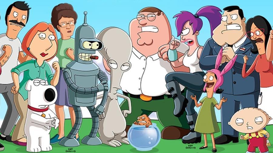 AnimationThrowdown-android-ios Family guy, American Dad e Futurama vão se enfrentar em jogo para Android e iOS