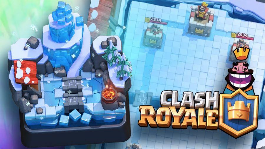 Arena-de-gelo-clash-royale Clash Royale Sneak peek #1: Veja a Nova Arena de Gelo