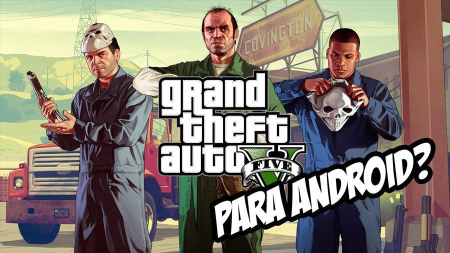 GTA-V-PARA-ANDROID-MOBILEGAMER Fã cria game para Android inspirado em GTA V! Veja como ficou!