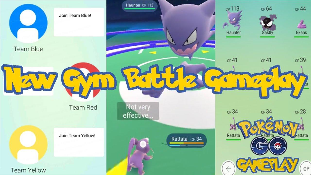 Pokemon-go-gameplay-ginasios Pokémon GO: veja vídeo com batalhas nos GINÁSIOS do game