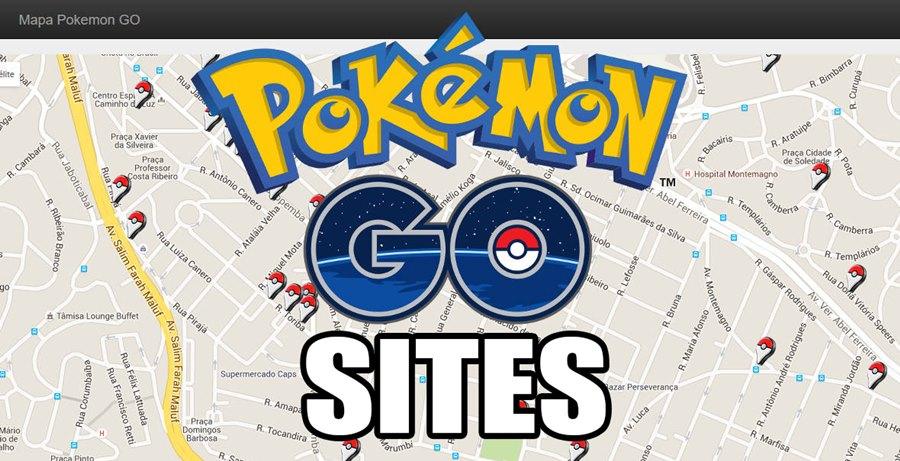 SITES-mapa-pokemon-go-mobilegamer Pokémon GO: Sites Mostram Mapas e Localização de PokéStops, Ginásios e muito mais