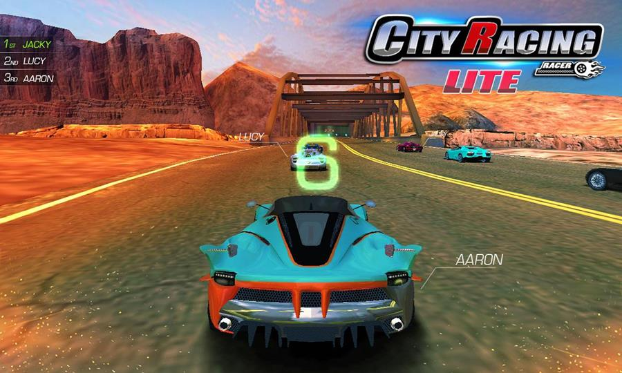 city-racing-lite-mobilegamer-android-1 City Racing Lite é um game de corrida OFFLINE com multiplayer local (Android e Windows Phone)