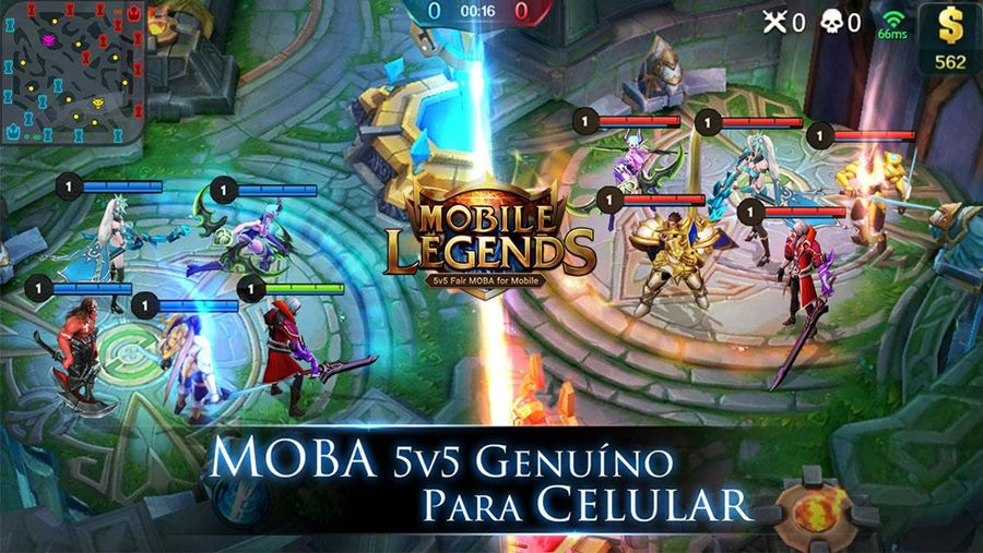 Mobile Legends é o verdadeiro clone de League of Legends para celular Android