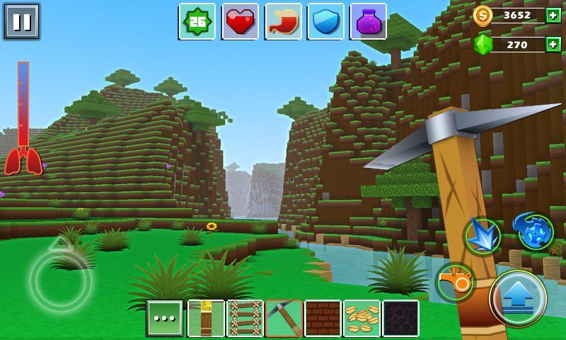 mundo-exploracao-craft-android-mobilegamer Melhores Jogos para Android da Semana #29 - 2016