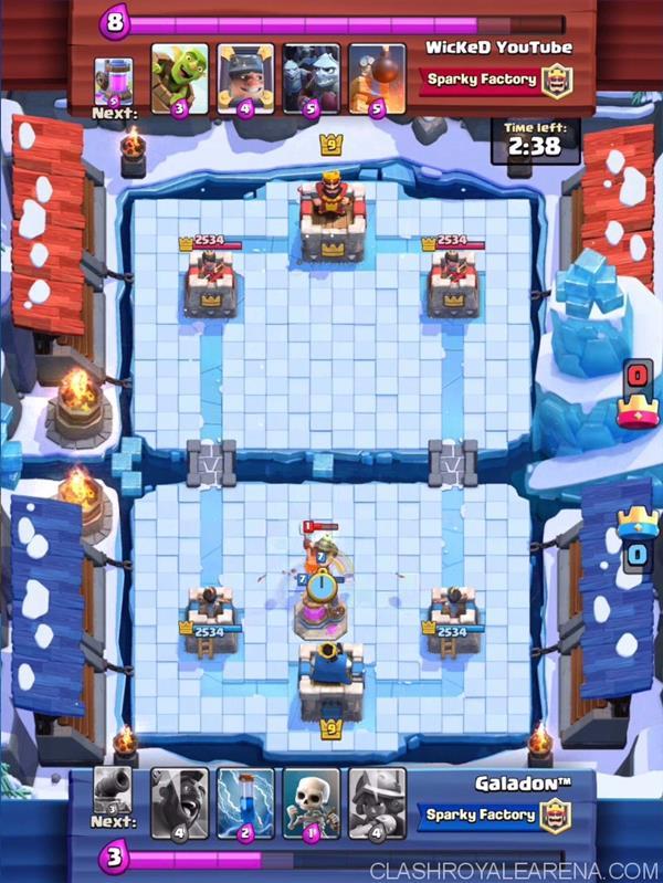 new-arena-frozen-peak Clash Royale: Saiba tudo sobre a Atualização! Torneios, nova Arena e novas cartas