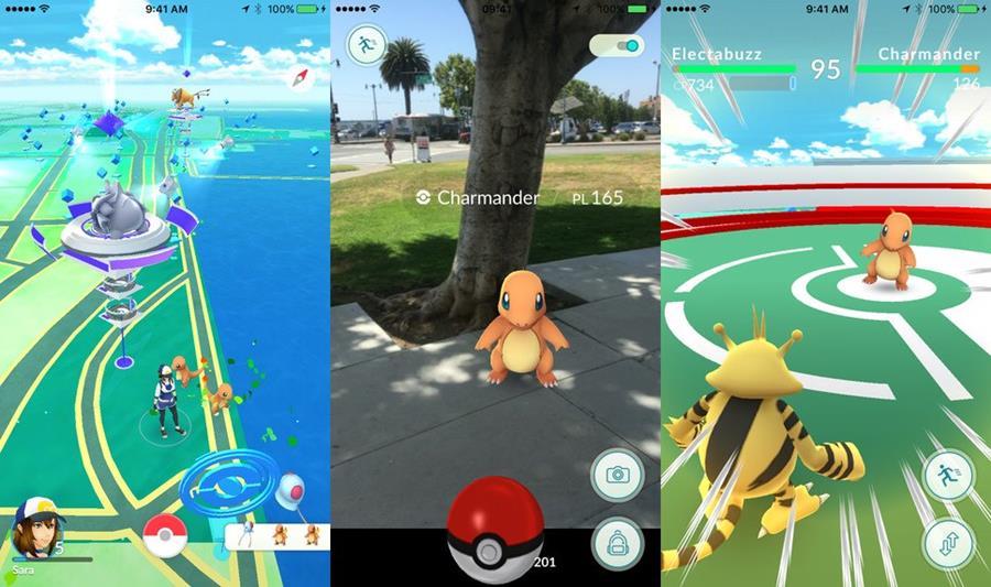 pokémon-go-lancamento-oficial-android-ios-1 Chegou! Baixe Agora Pokémon GO no Android (APK) e iOS (funcionando 100%)