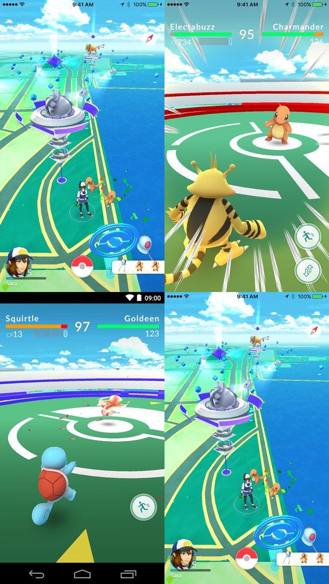pokemon-go-android-ios-jogo-celular-tutorial-batalhas-ginasios-2 Testamos Pokémon GO: saiba TUDO sobre o jogo para celular