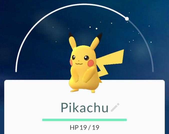 pokemon-go-dex-pikachu TUTORIAL Pokémon GO: como pegar o Pikachu como o seu pokémon inicial