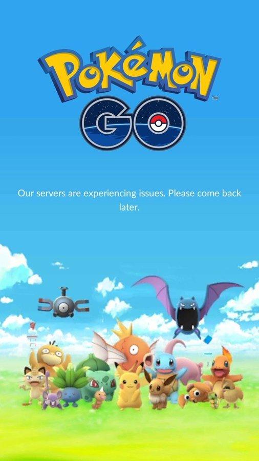 pokemon-go-fail-servidores-cairam Pokémon GO: Travando? Fechando? Entenda o que está acontecendo